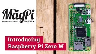 Raspberry Pi Zero W(802.11n+Bluetooth4.0対応版)